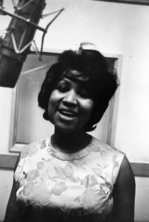 Aretha Franklin by Isaac Sutton