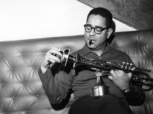 Dizzy Gillespie - 1962 by Isaac Sutton