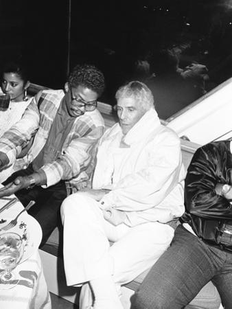 Herbie Hancock and Burt Bacharach - 1986 by Isaac Sutton