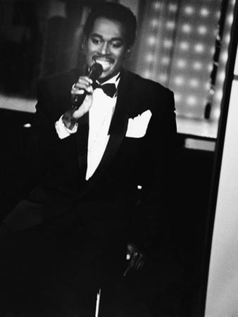 Luther Vandross - 1986 by Isaac Sutton
