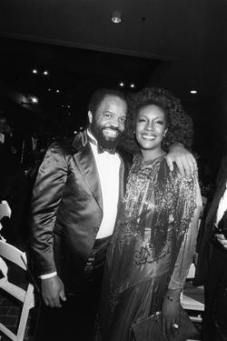 Mary Wilson, Berry Gordy 1983 by Isaac Sutton