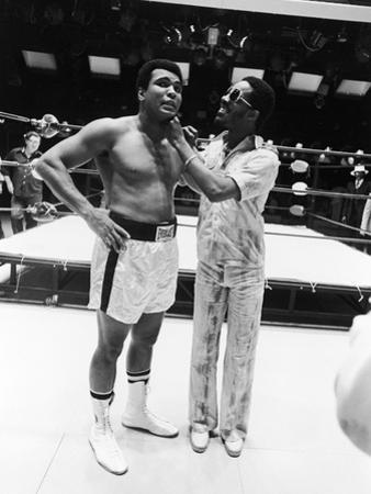 Muhammad Ali and Stevie Wonder - 1975 by Isaac Sutton
