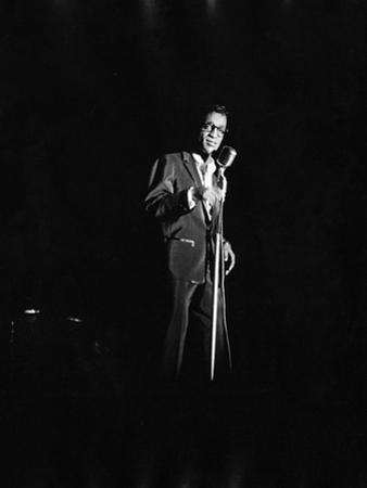 Sammy Davis  Jr. by Isaac Sutton