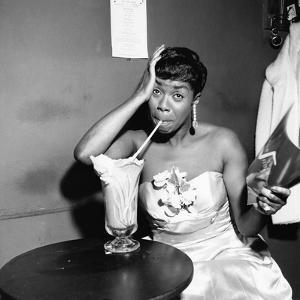Sarah Vaughan - 1955 by Isaac Sutton