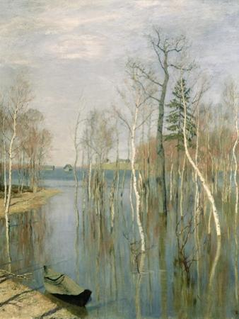 Spring, High Water, 1897 by Isaak Ilyich Levitan