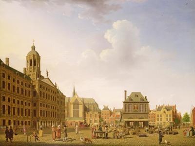 Dam Square - Amsterdam, 1782