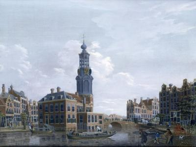 View of the Mint Tower at Amsterdam, 1777