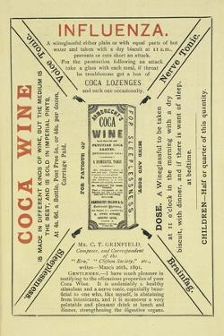 Advertisement For Coca Wine As a Health Drink by Isabella Beeton