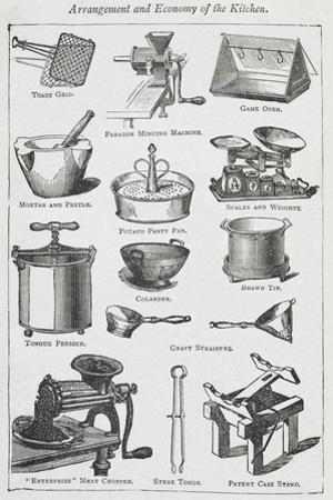 Arrangement and Economy Of the Kitchen. Various Cooking Utensils by Isabella Beeton
