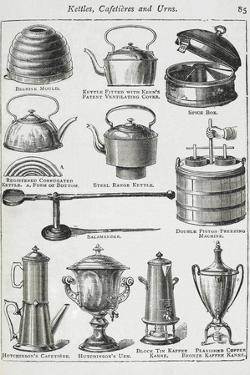Kettles, Cafetieres and Urns by Isabella Beeton