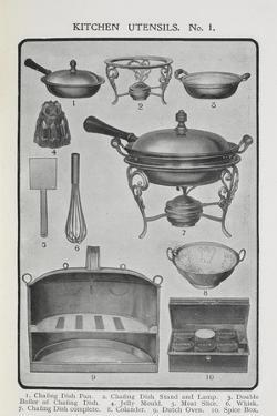 Kitchen Utensils by Isabella Beeton