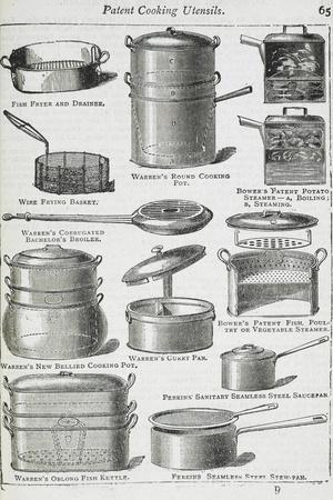 Patent Cooking Utensils