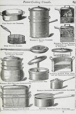 Patent Cooking Utensils by Isabella Beeton