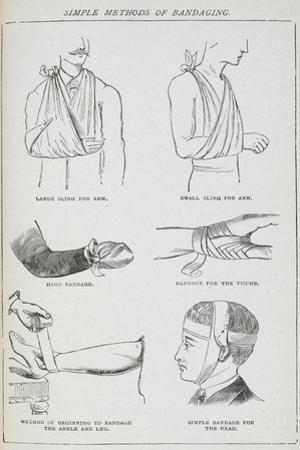 Simple Methods Of Bandaging by Isabella Beeton