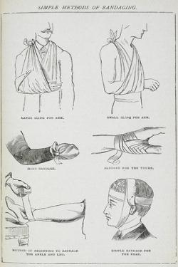 Simple Methods Of Bandaging by Isabella Beeton