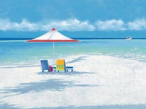 Beach Life I by Isabelle Aubonne