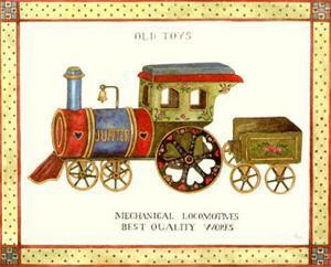 Mechanical Locomotive by Isabelle De Bercy