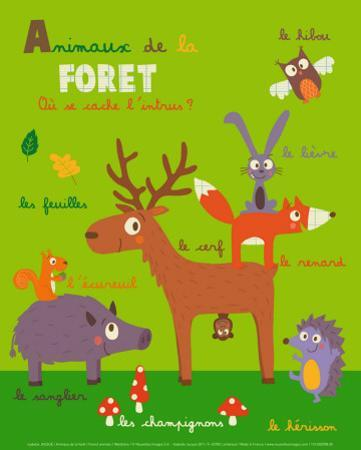 Forest Animals by Isabelle Jacque