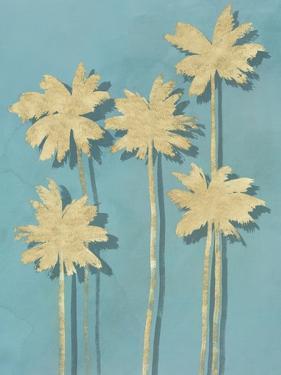 Golden Palm I by Isabelle Z