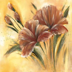 Fleur brune I by Isabelle Zacher-finet