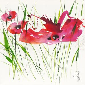 La danse du pavot I by Isabelle Zacher-finet