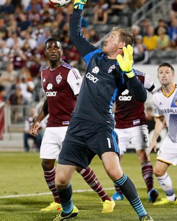 Aug 20, 2014 - MLS: Los Angeles Galaxy vs Colorado Rapids - Clint Irwin