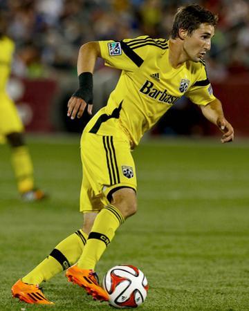 Jul 4, 2014 - MLS: Columbus Crew vs Colorado Rapids - Ethan Finlay