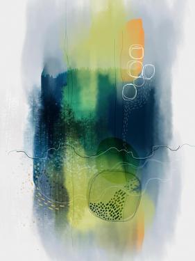 Misty Mountain Lake by Ishita Banerjee