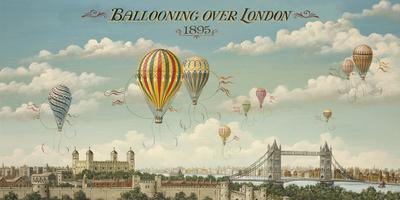 Ballooning Over London