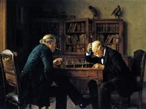Chess Problem by Isidor Kaufmann