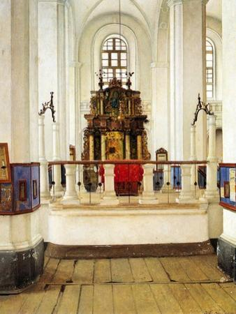 Interior of the Brody Synagogue