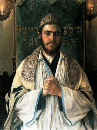 Portrait of a Pious Young Rabbi
