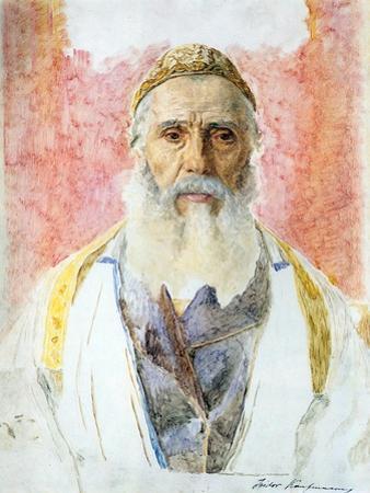 Rabbi in White Frock