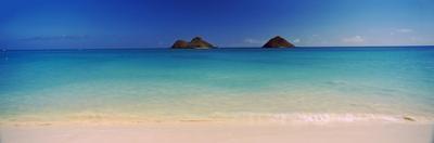 Islands in the Pacific Ocean, Lanikai Beach, Mokulua Islands, Oahu, Hawaii, USA