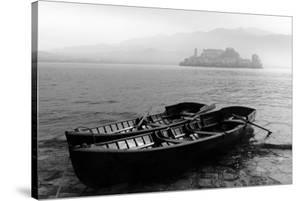 Isle of San Giulio in the Mist