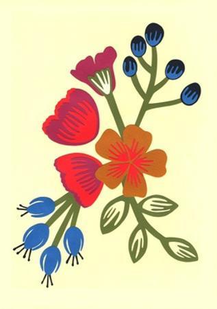 Flora, 2015 by Isobel Barber