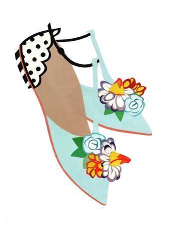 Summer Sandals, 2014 by Isobel Barber