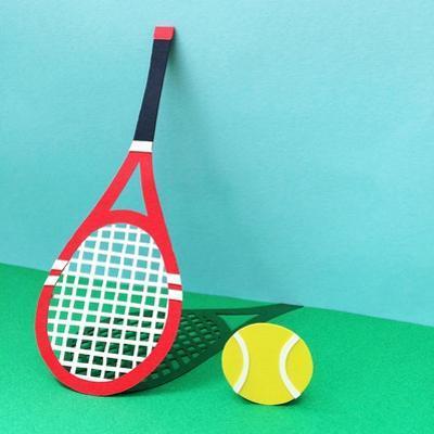 Tennis Bridgeman by Isobel Barber