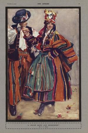 A Polish Bride and Bridegroom
