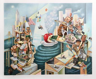 The Big Apple by Israel Rubinstein