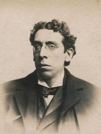 'Israel Zangwill', (1864-1926). British humorist and writer, 1894-1907