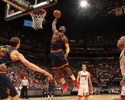 Cleveland Cavaliers v Miami Heat by Issac Baldizon