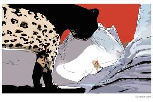 A Conservationist Tracks a Snow Leopard Over the 16,000-foot Karakoram Pass by Istvan Banyai