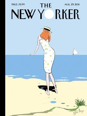 The New Yorker Cover - August 29, 2011 by Istvan Banyai