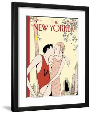 The New Yorker Cover - May 6, 2002 by Istvan Banyai