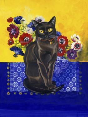 Burmese Cat, Series II by Isy Ochoa