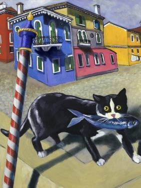 Cat of Burano (Chat de Burano) by Isy Ochoa