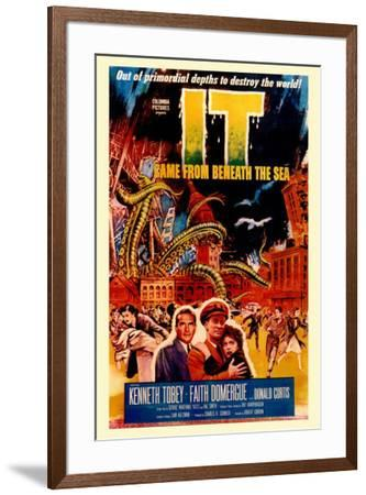 It Came From Beneath the Sea--Framed Poster
