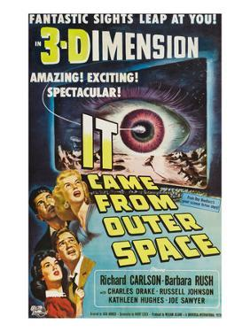 It Came From Outer Space, Kathleen Hughes, Charles Drake, Richard Carlson, Barbara Rush, 1953