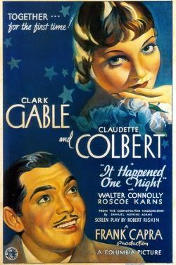 It Happened One Night, Directed by Frank Capra, 1934